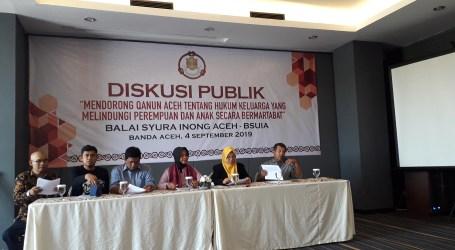 Balaisyura Minta DPRA Tunda Pengesahan Qanun Keluarga