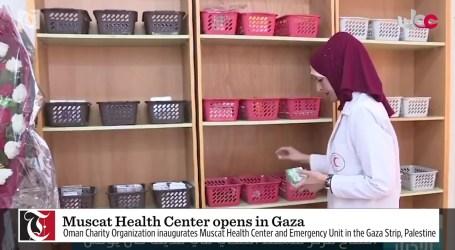 Oman Buka Pusat Kesehatan di Gaza