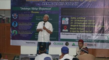 Uray Salam: Islam Tidak Bisa Dilaksanakan Kecuali dengan Berjama'ah