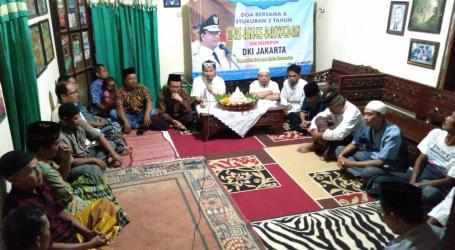 Dua Tahun Kepemimpinan Anies, Warga Lokasi KKN Anies Adakan Syukuran