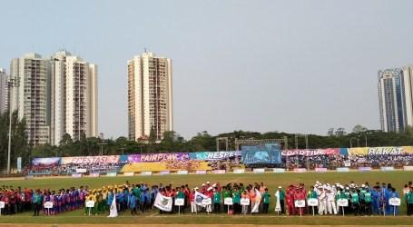 Kompetisi Sepak Bola Gala Siswa Tingkat Nasional Dimulai