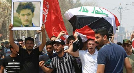 Korban Tewas dalam Protes Irak Capai 104 Orang, 6.000 Luka