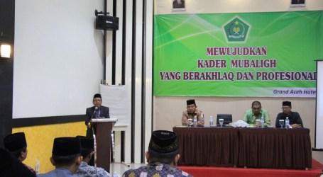 Kemenag Aceh Latih 24 Mubaligh Kader Dakwah