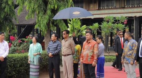 Kunjungi Anjungan Aceh, Wakil Presiden Mynmar Napak Tilas Sejarah yang Sulit Dilupakan