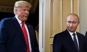 Putin: Rencana Perdamaian Timur Tengah-nya Trump Tidak Jelas