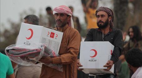 Bulan Sabit Merah Turki Operasikan Klinik Keliling di Suriah Utara