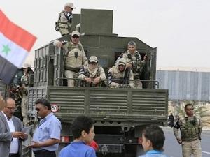 Pasukan Pemerintah Suriah Masuki Kobane