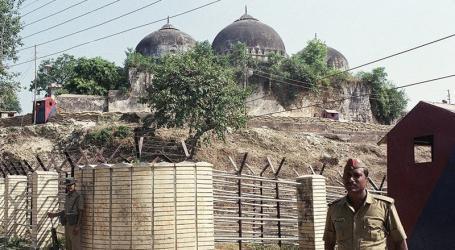 Lebih 5.000 Pasukan India Diturunkan Jelang Keputusan MA atas Masjid Babri