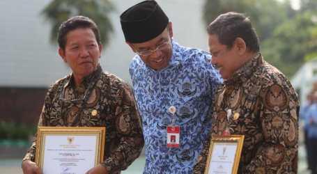 Sesmenpora Sampaikan Amanat Presiden Saat Upacara HUT Ke-48 Korpri