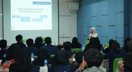 BEM FTIP Unpad Belajar Sertifikasi Halal ke LPPOM MUI