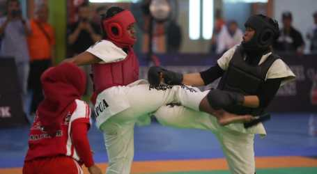 126 Pelajar Ikuti Cabor Tarung Derajat Popnas 2019