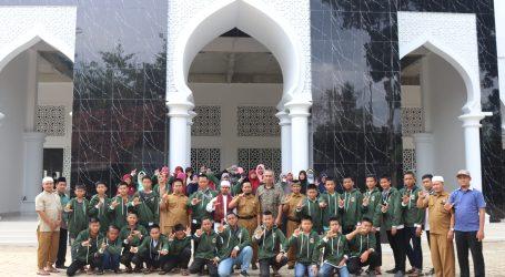 Pererat Silaturahim, SMPIT Rabbani Muara Enim Kunjungi Ponpes Al-Fatah Lampung