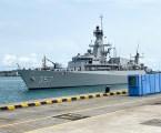 Dua Kapal Perang RI Singgah di Pangkalan Angkatan Laut Singapura