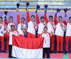 Tim Bulutangkis Beregu Putra Indonesia Sukses Raih Medali Emas SEA Games 2019