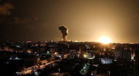 Israel Lakukan Serangan Udara Pertamanya ke Gaza di tahun 2020