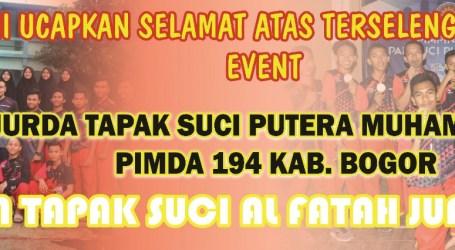 Ponpes Al-Fatah Cileungsi Ikuti Kejuaraan Pencak Silat Kabupaten Bogor 2020