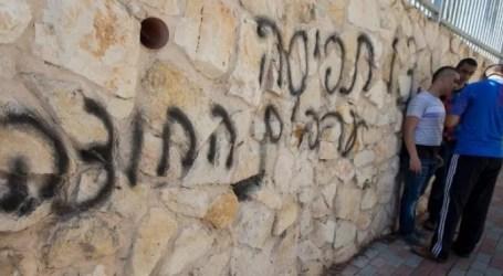 Masjid di Yerusalem Ditulisi Grafiti Kebencian