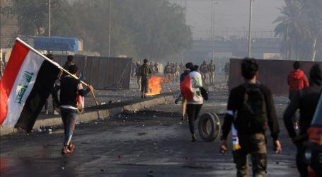 Bentrokan Berlanjut di Baghdad : Dua Tewas, 60 Terluka