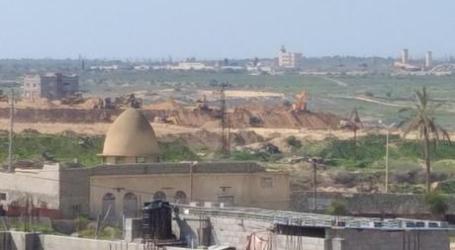 Mesir Mulai Bangun Tembok di Sepanjang Perbatasan Gaza