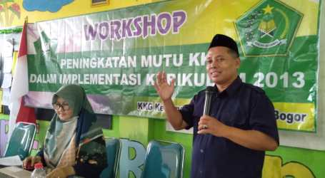 Komarudin: KKG Wadah Guru untuk Berlatih dan Sharing
