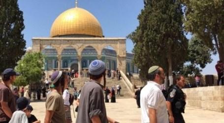 43 Pemukim Yahudi Serbu Masjid Al-Aqsa