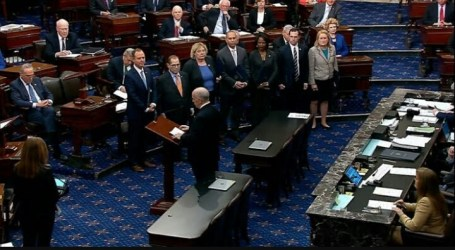 Delapan Senator AS Minta Pemerintah Bantu Palestina Hadapi Covid-19