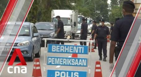 Polisi Malaysia Tangkap 400 Lebih Warga Pelanggar Pembatasan Pergerakan