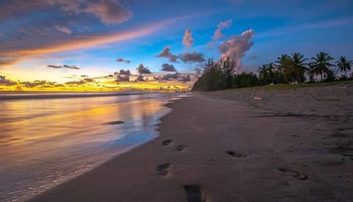 Pantai wisata di pariaman