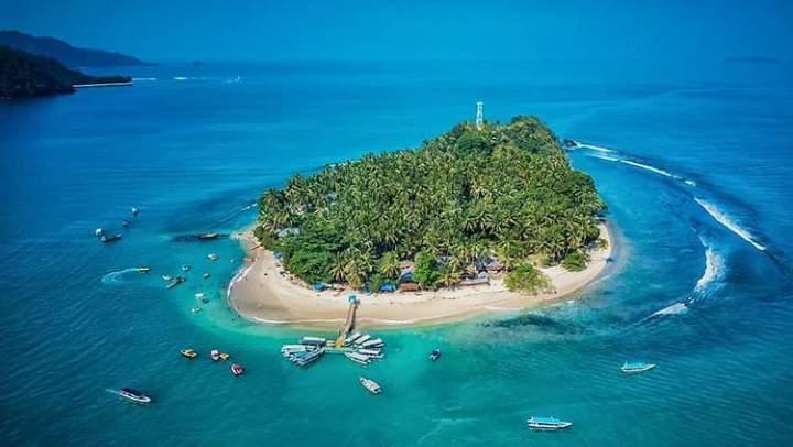 Panorama pulau Cingkuak