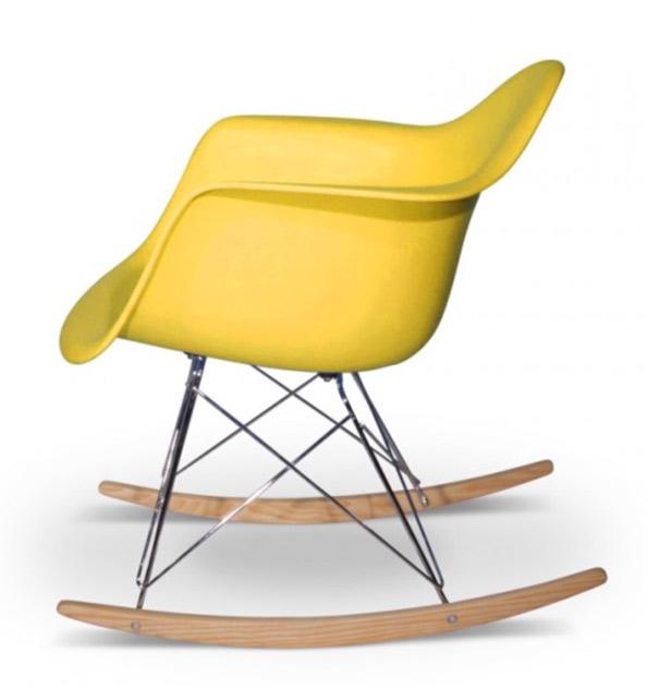 Rocking Chair RAR Eames chez Happy Connection