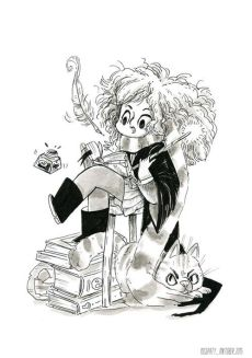 harry-potter-inktober-misspaty-sketch-hermione-pattenrond