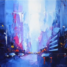 oeuvre-d-art-contemporain-blue-manhattan-daniel-castan