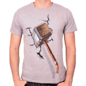 tshirt-homme-avengers-thor-hammer-on-wall-legend-icon