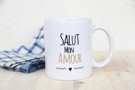 Mug Salut mon amour - So Mug