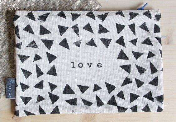Pochette LOVE - Phileas Handmade