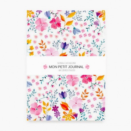 carnet-de-notes-fleurs