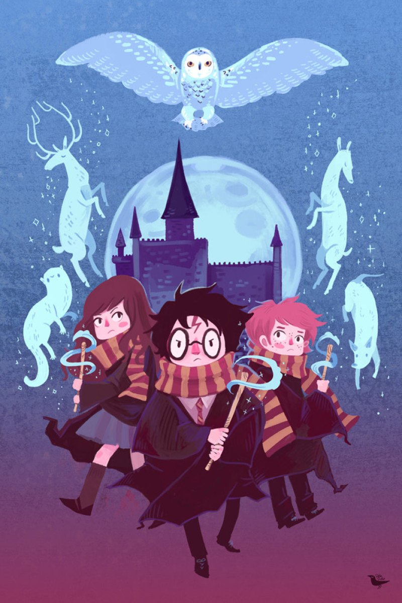 illustration-harry-potter