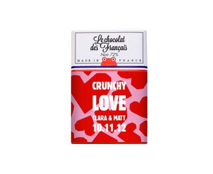 tablette chocolat pour vos invités de mariage