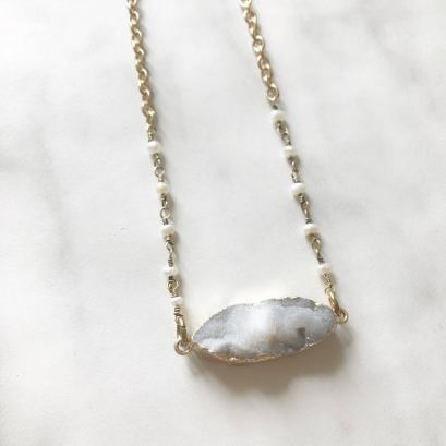 Collier quartz - Les bijoux de Joe