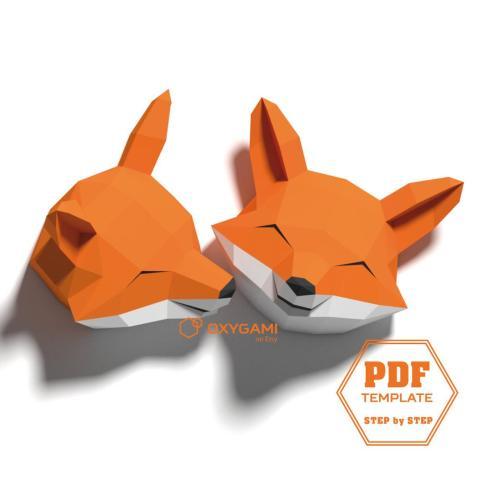 DIY Origami Kitsune