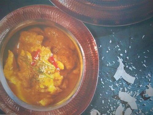 recette poulet korma