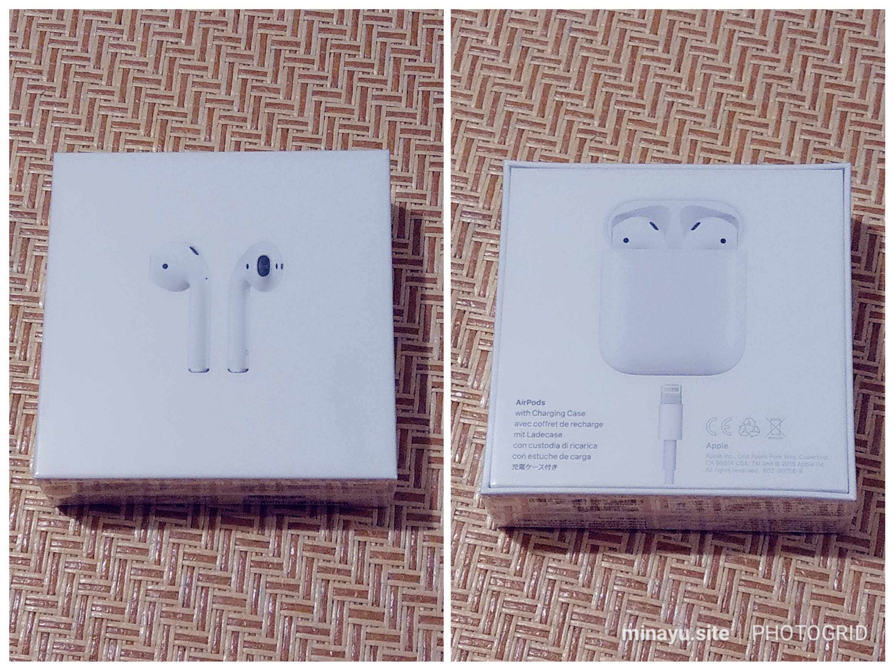 [Apple] Airpods 1 開箱/搭配 Android手機