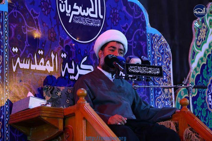 الشيخ عامر الحداد