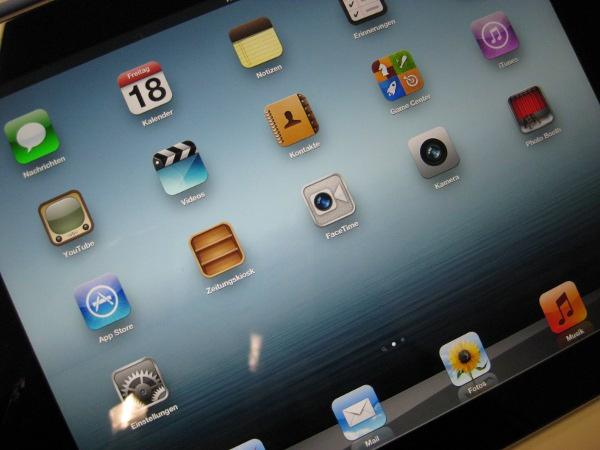 iPad-Ausleihe in der Informatik-Bibliothek