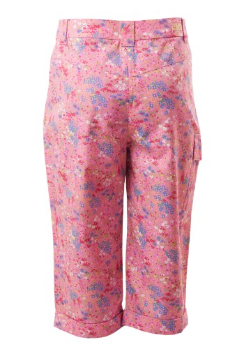 MINC Petite Long Shorts in Floral Printed Pink