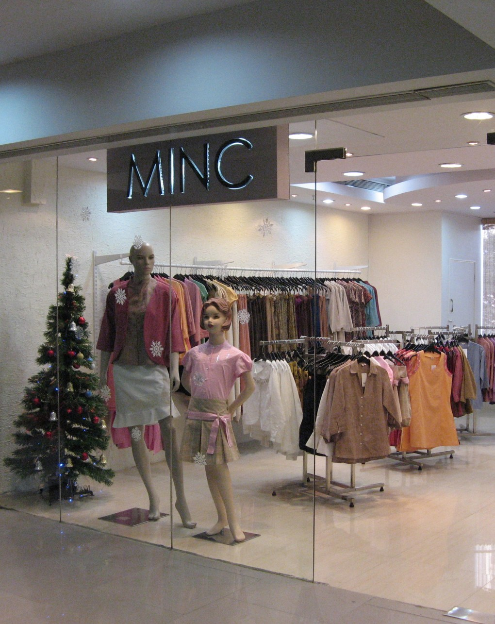 MINC Sigma Mall Store as featured in Going all natural