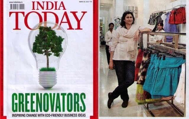 MINC as featured in India Today green entrepreneurs -25th March 2013 - Greener, saner ideas of leading an organic life!