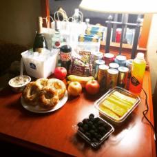 Snacks & Libations