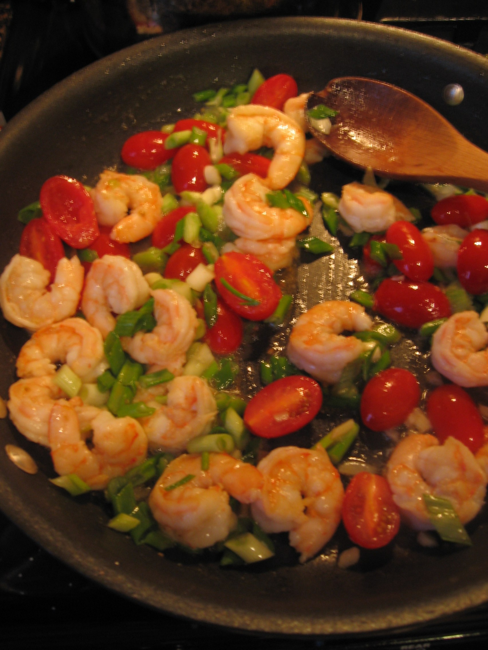 Shrimp and Feta Pasta 004