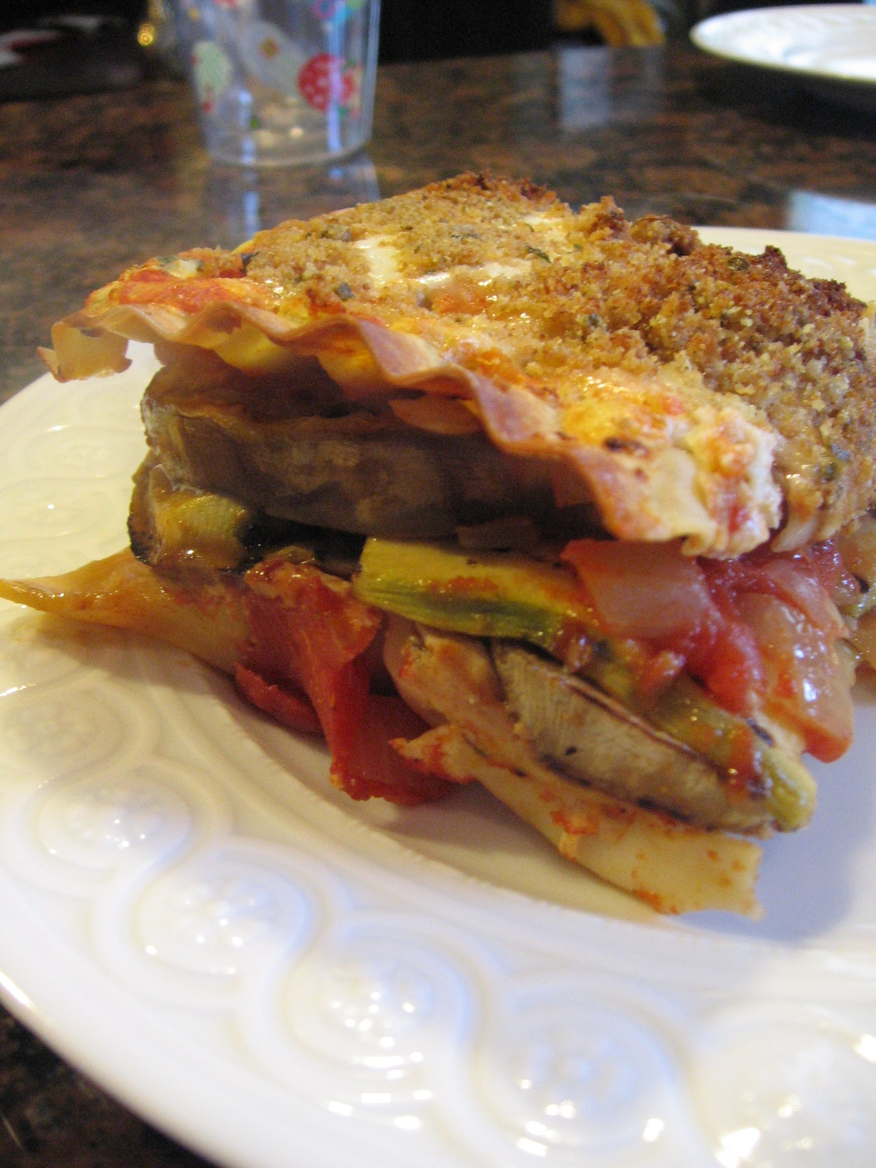 Summer Vegetarian Lasagna